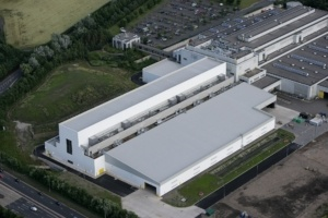 Newsprinters Knowsley Plant (Aerial)