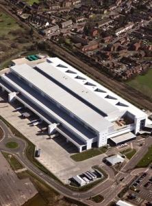 Newsprinters Broxbourne Plant (Aerial)